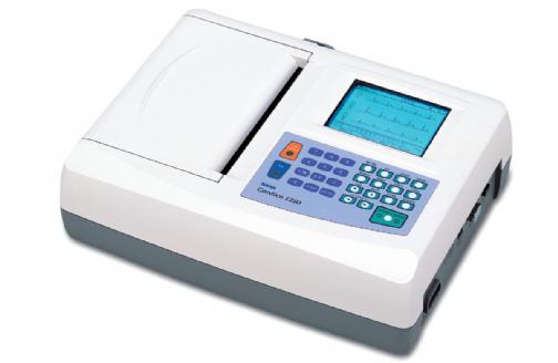 解析付デジタル心電計